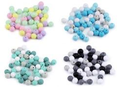Műanyag gyöngy matt - 50 db/csomag