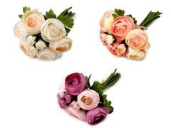 Mű rózsacsokor