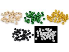 Fa gyöngyök 10 mm - 20 gr./csomag Gyöngy-,gyöngyfűző