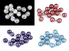 Üveg gyöngyök 8 mm - 10 gr. Gyöngy-,gyöngyfűző