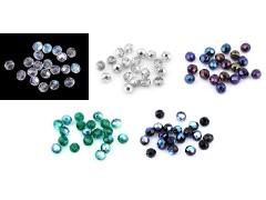 Csiszolt üveg gyöngyök - 20 db/csomag