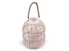 Provance fa fonott lámpa Gyertya,illatosító,lámpa