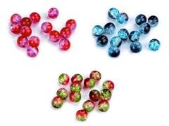 Üveg gyöngyök kétszínű - 10 gr./csomag Gyöngy-,gyöngyfűző