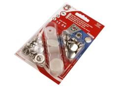 Beüthető nikkel patent - 10 db/csomag Gomb, kapocs