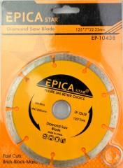 Epica gyémánt vágótárcsa 125 X 7 MM Kellék, szerszám