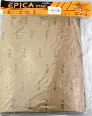 P80 Csiszolópapir - 20 db/csomag Kellék, szerszám