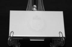Fém névjegykártyatartó - Címeres Ajándék ötlet férfiaknak