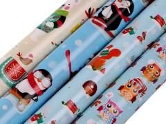 Gyerek karácsonyi csomagoló papir Papir,celofán,fólia