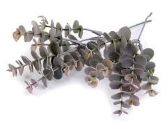 Mű eukaliptusz dekoráláshoz - 7 db Virág, toll, növény