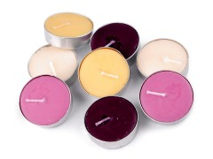 Illatmécses üvegben - 6 db/csomag Gyertya,illatosító,lámpa